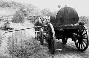 Fumigating for mosquitos and disease carrying insects 1905