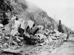 Culebra Cut Landslide 1913