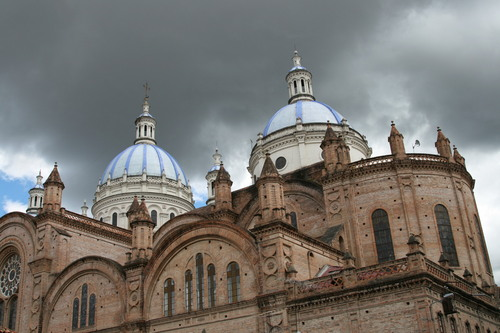 Blue Domes of Cathedral Calderon