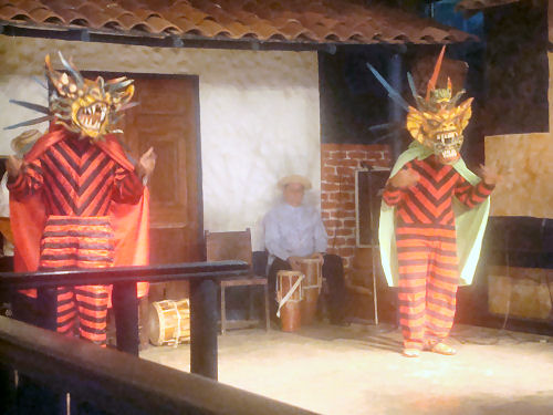 Traditional Devil Dancers