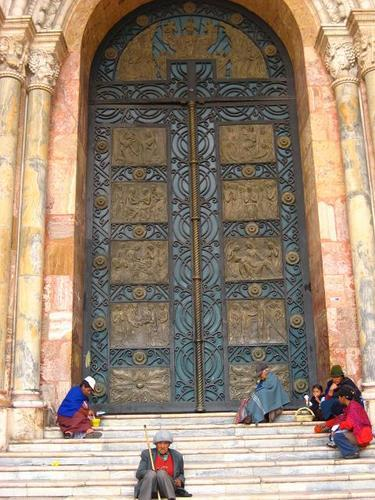 Doors of Cathedral Calderon