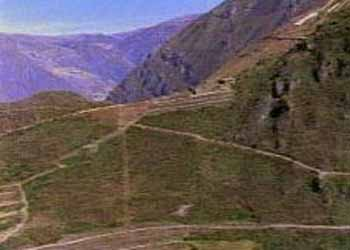 Ancient Inca Road System