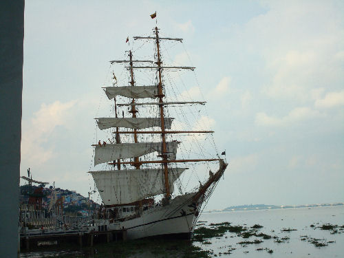 Ecuador's Tall Ship