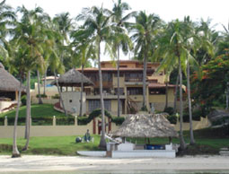 Exile home of the Shah of Iran, on Contadora