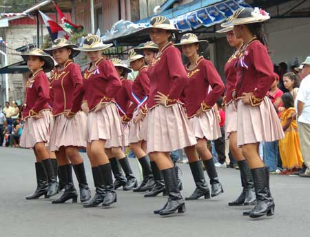 Parade in Boquete