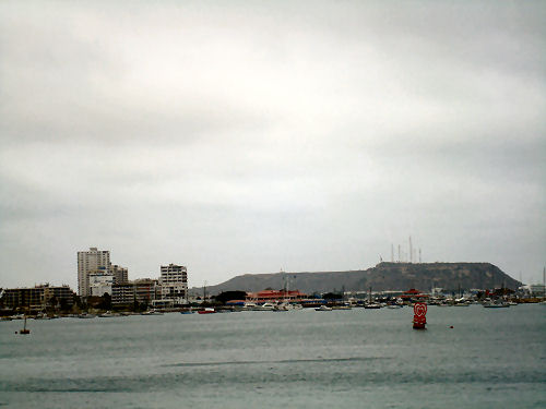 Salinas Harbor on the Pacific