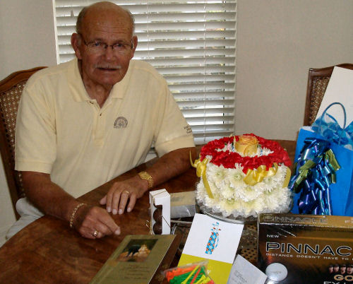 Leon's 83rd birthday, 15 months before his passing