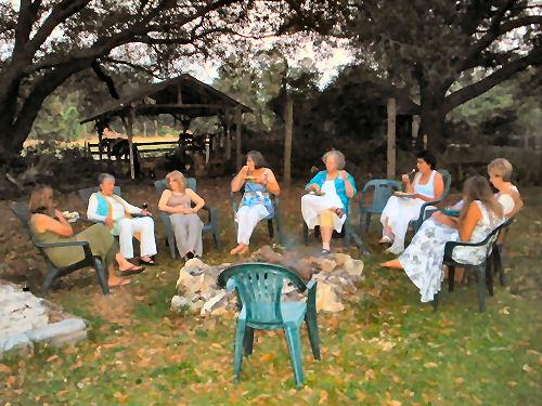 My wonderful circle of friends celebrate Judi's 60th