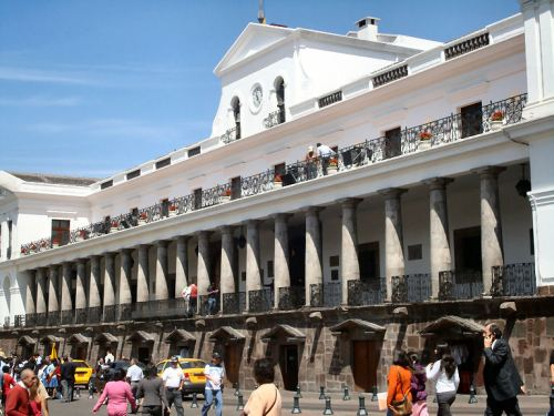 Municipal Building in Quito