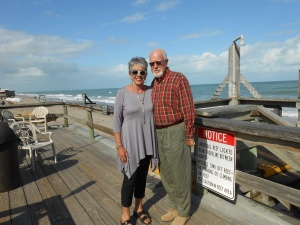 Jim was born in this town, Vero Beach, Florida.  What fun to visit his home town.