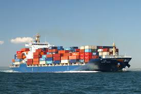Container on the High Seas