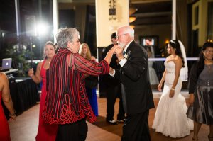 Jim and me cutting a rug