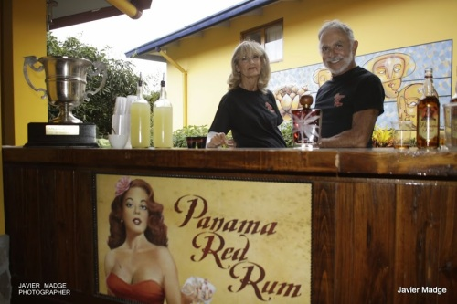 The big Panama Red bar was serving Panama Red Tea