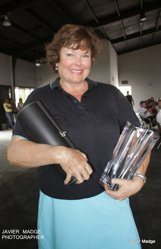 Robyn Cole won the Longest Drive Women