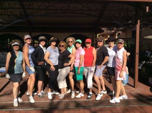 Our Thursday ladies golf group is growing