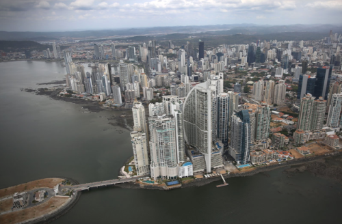 Another Perspective of Panama City Skyline