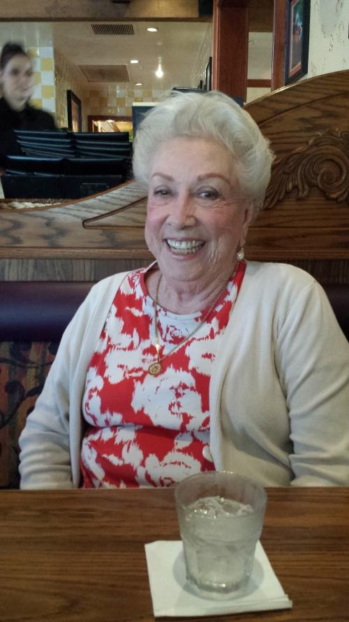 Mom in December 2013
