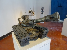 The artists interpretation of a war machine